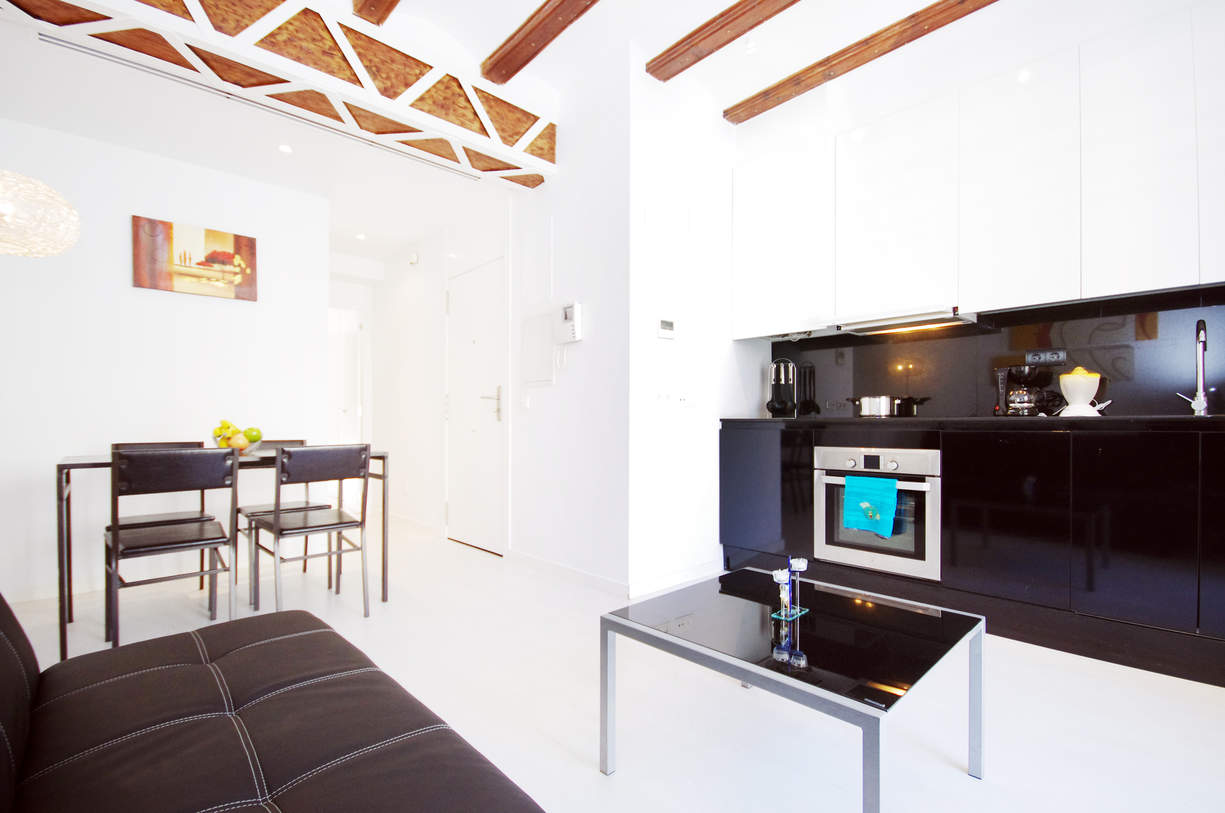 MS 1. 1 Bedroom Apartment with balcony. Old Town. Valencia.