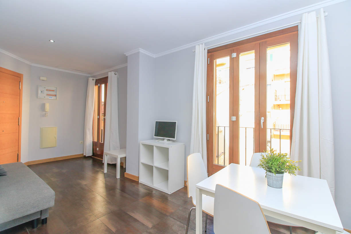TRA2. 1 Bedroom up to 3 people. El Carmen. Valencia.